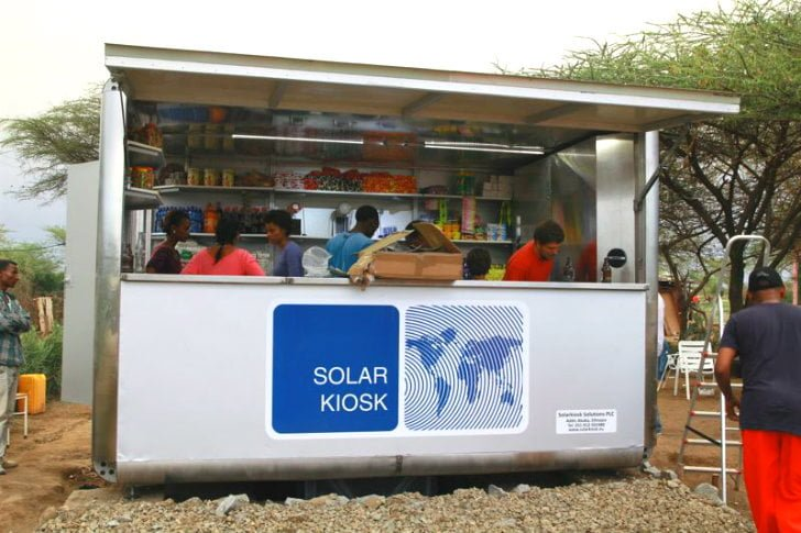 Solar-Kiosk