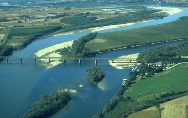 fiume po energia