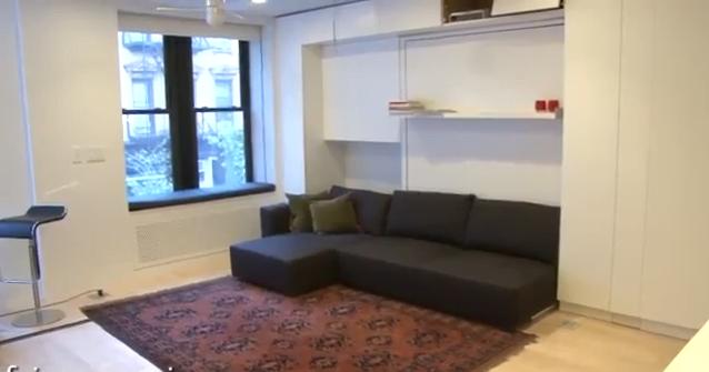 L 39 appartamento transformer 100 mq in 30 mq studio salvatore - Arredare camera da letto 9 mq ...