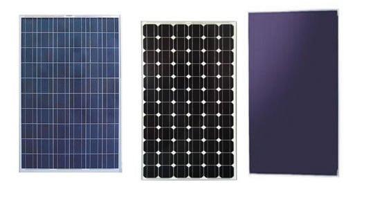 Pannello Solare Monocristallino O Policristallino : Pannelli fotovoltaici monocristallini policristallini o