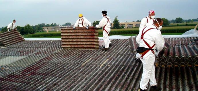 Bonifica amianto edifici pubblici, ammesse anche le scuole